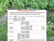Посевной календарь на 2013 год