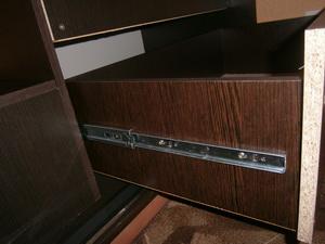 Установка ящика в шкаф купе