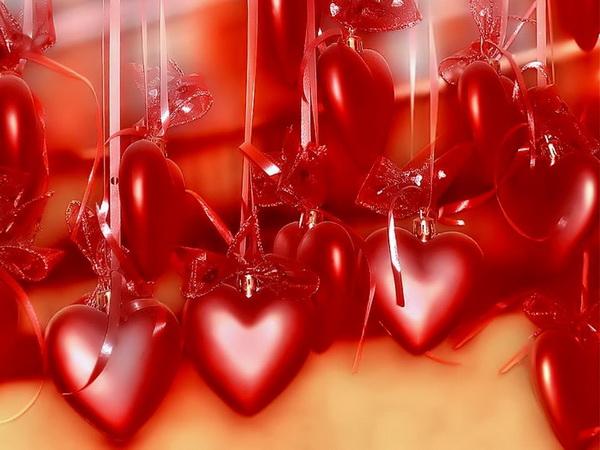 Летающие Валентинки