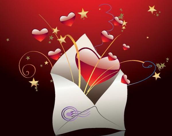 Валентинки по почте