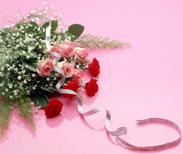 Цветы дорогой женщине
