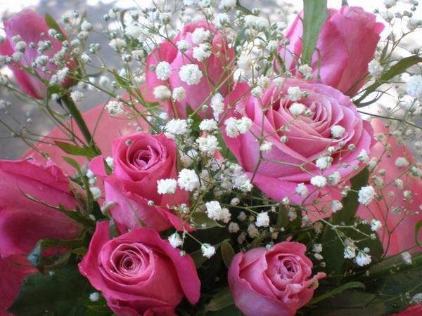 Цветы друзьям