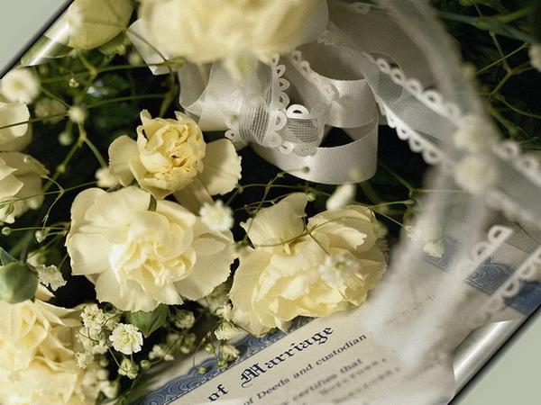 С днем свадьбы невеста