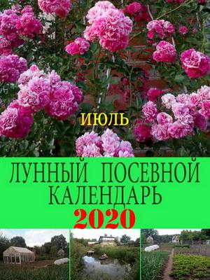 Лунный посевной календарь на 2020 год июль